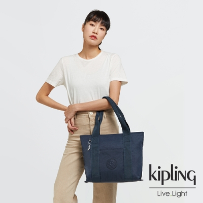 Kipling 北極深海藍手提包-ERA S