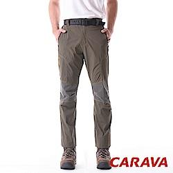 CARAVA《男登山排汗褲涼爽款》(深橄綠)