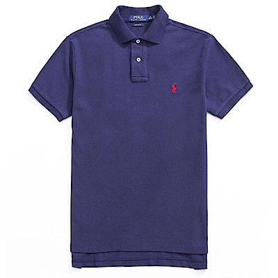 Polo Rlaph Lauren 經典電繡小馬Polo衫(Custom)-深藍色