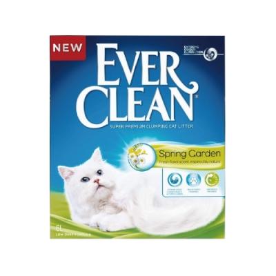 EVER CLEAN藍鑽超凝結貓砂-花語香氛結塊貓砂 10L/9kg