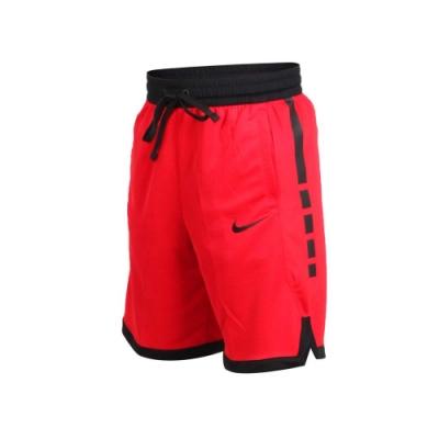 NIKE 男籃球短褲-籃球 慢跑 紅黑