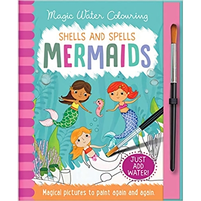 Magic Water Colouring:Scales and Tails Mermaids 美人魚變色畫冊