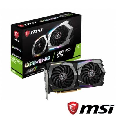 MSI微星 GeForce GTX 1660 GAMING 6G 顯示卡