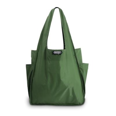 murmur A4環保購物袋│軍綠