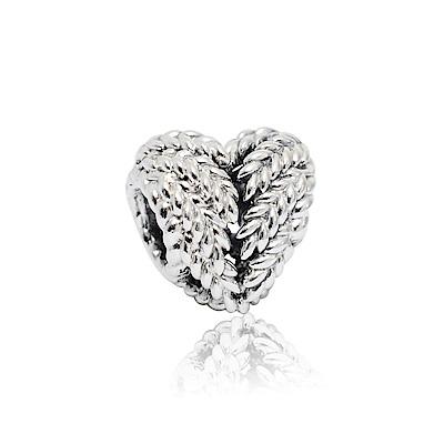 Pandora 潘朵拉 自然之心 純銀墜飾 串珠