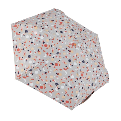 RAINSTORY 8°降溫凍齡手開輕細口紅傘(童趣拼貼)