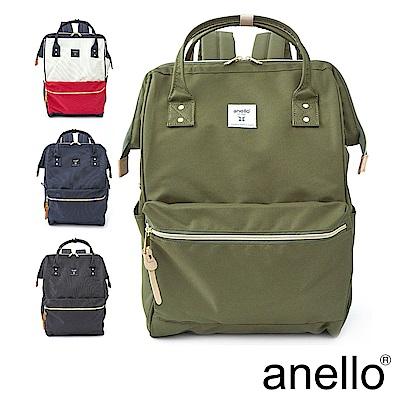 anello 新版基本款2代R系列 防潑水強化 經典口金後背包 Large