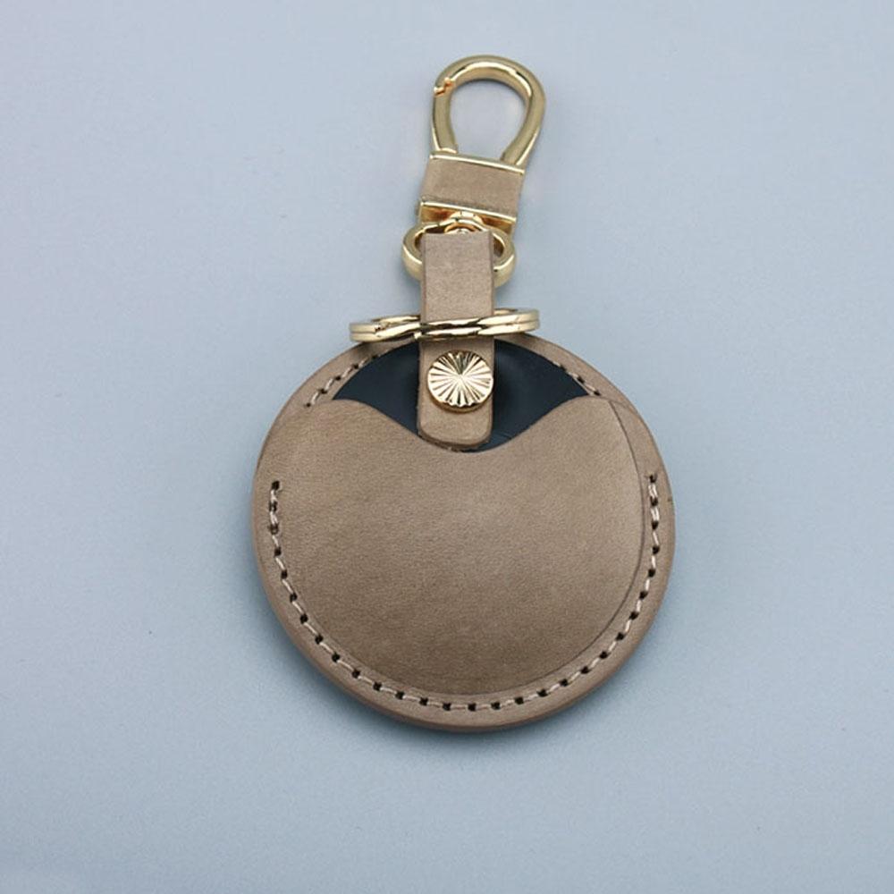 J II -gogoro鑰匙皮套-半套卡其灰-OMC