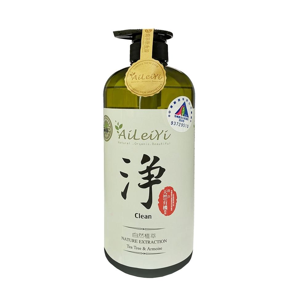 AiLeiYi洋甘菊潤膚沐浴精-淨/茶樹艾草1000ml