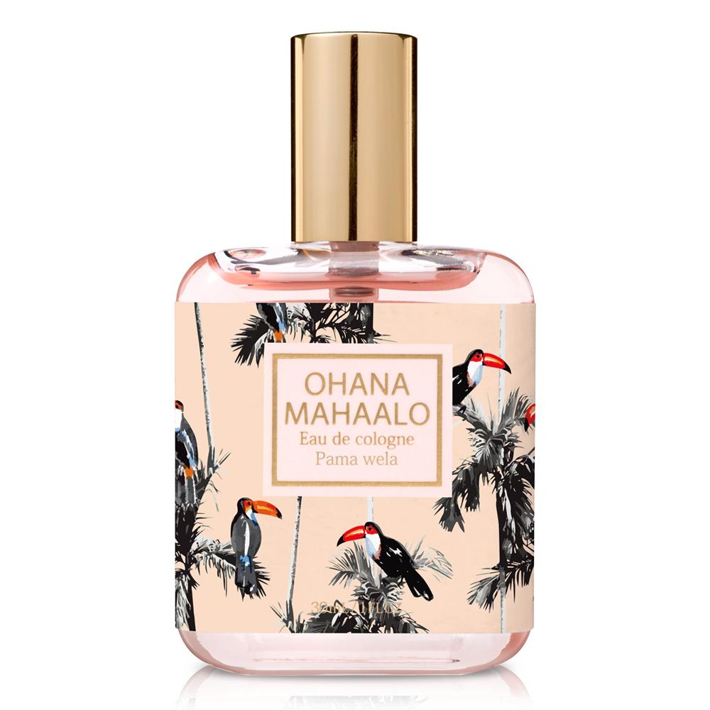 *OHANA MAHAALO 熱帶雨林輕香水30ml