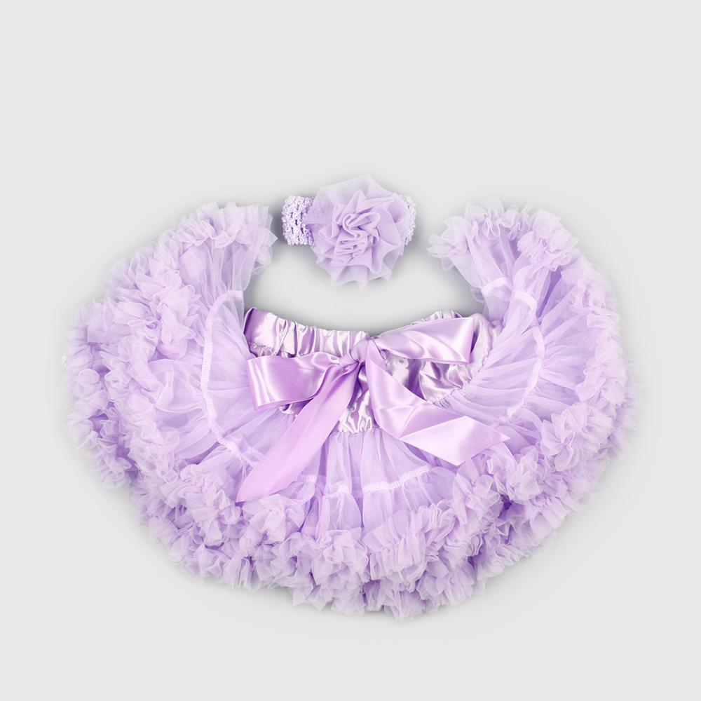 日安朵朵 女嬰童雪紡蓬蓬裙 - 長髮公主