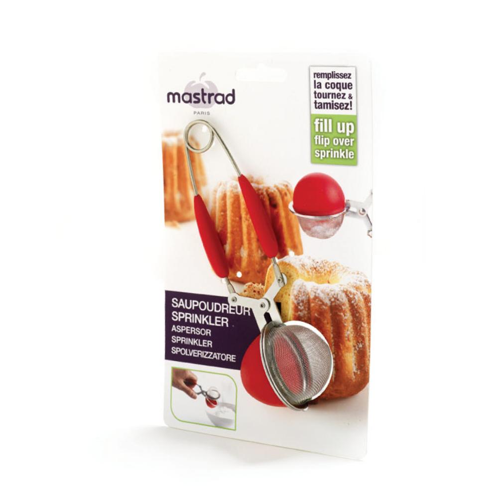 法國mastrad 矽膠多用途濾球(紅)