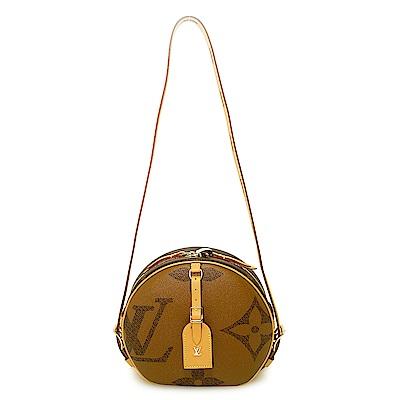 LV M44604 Boite Chapeau Souple 大logo圓型肩背包