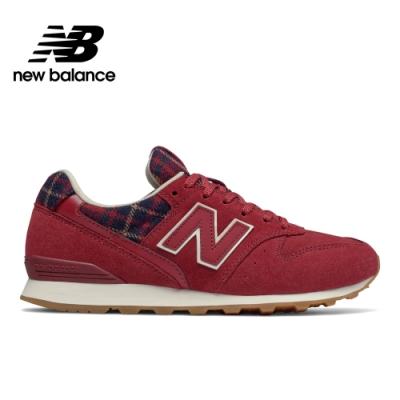 【時時樂限定】New Balance 復古鞋_女性:紅/黑/黑_中性: