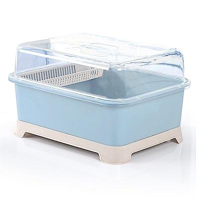 【Incare】大容量30L碗盤瀝水收納箱(1入/3色可選)