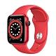 Apple Watch Series 6 (GPS+行動網路) 40mm 紅色鋁金屬錶殼+紅色錶帶(M06R3TA/A) product thumbnail 1
