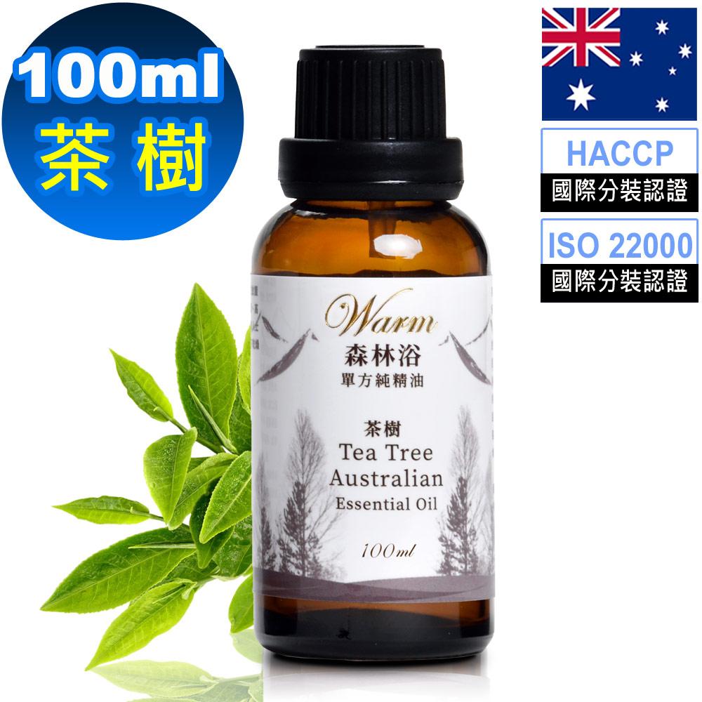Warm 森林浴單方純精油100ml-茶樹