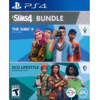 模擬市民 4 + 綠色生活 THE SIMS 4 + Eco Lifestyle - PS4 中英文美版