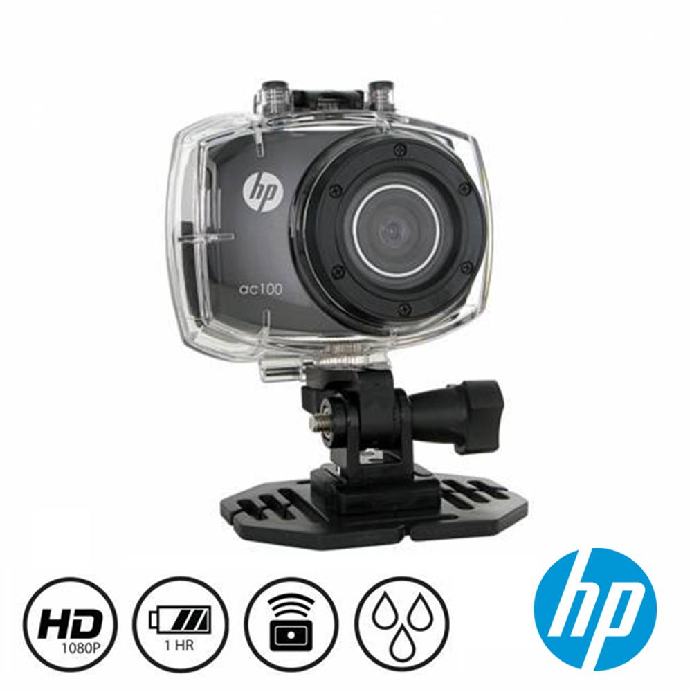 HP惠普防水極限運動海陸雙用攝影機暑夏玩水冬天滑雪最佳攝影神器 AC100_旅行必備