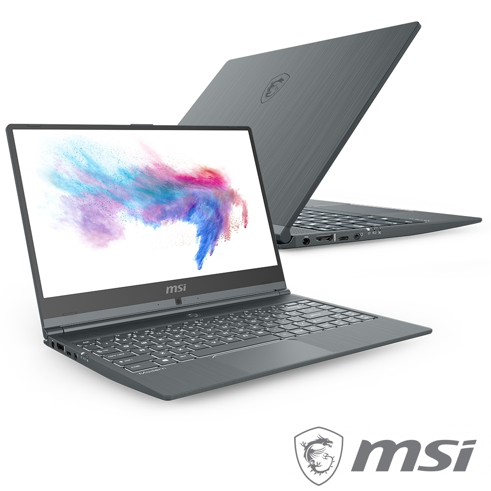 MSI微星 Modern 14-831 窄邊框創作者筆電(i7-10510U/MX250 3C限定 消費滿兩萬登錄送1200購物金