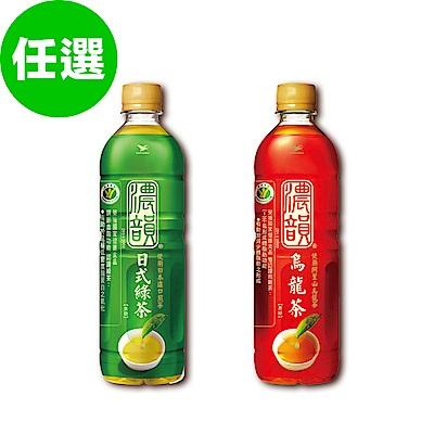 [買就送100元超贈點] 濃韻 無糖烏龍茶/日式綠茶 2口味任選1