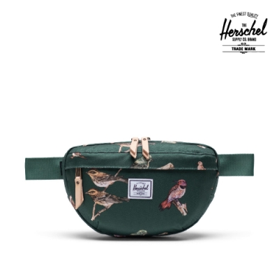 【Herschel】Nineteen 腰包-鳥形/墨綠