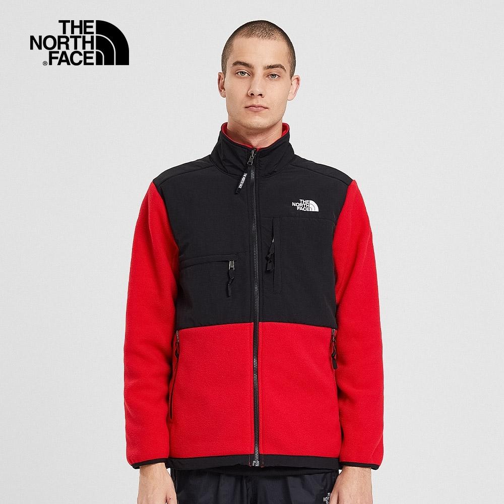 【經典ICON】The North Face北面男女款紅色1995Denali抓絨外套|4NCJ682