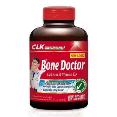 CLK健生 舒鈣液體鈣軟膠囊(女性專用鈣) 120粒 (美國原裝進口)