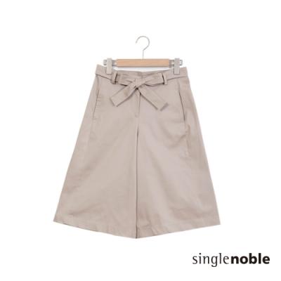 獨身貴族 南法風情素色好搭設計寬褲(3色)