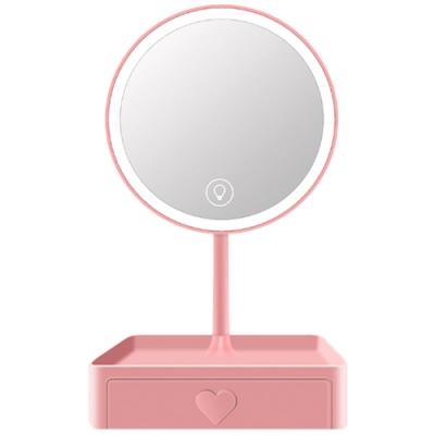 COMET 三光色LED觸控調亮抽屜化妝鏡(TD-021)