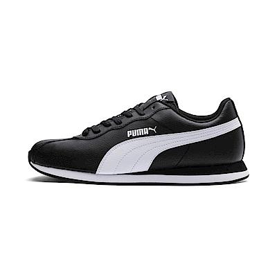 PUMA-Puma Turin II 男女復古足球運動鞋-黑色