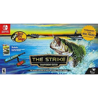 模擬專業釣魚 冠軍版 釣桿組合  Bass Pro Shop-NS Switch 英文美版