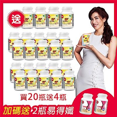 【葡萄王】孅益薑黃30粒X24盒 加贈易得孅2入