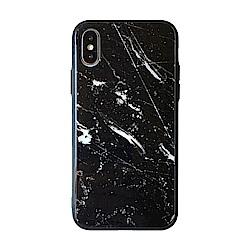 【TOYSELECT】iPhone Xs Max 大理石玻璃背板手機殼