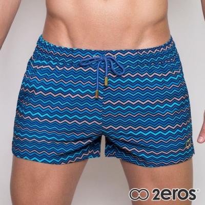 2EROS 海洋之心男海灘褲(海藍色)