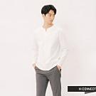H:CONNECT 韓國品牌 男裝 - 自然風格素面上衣-白