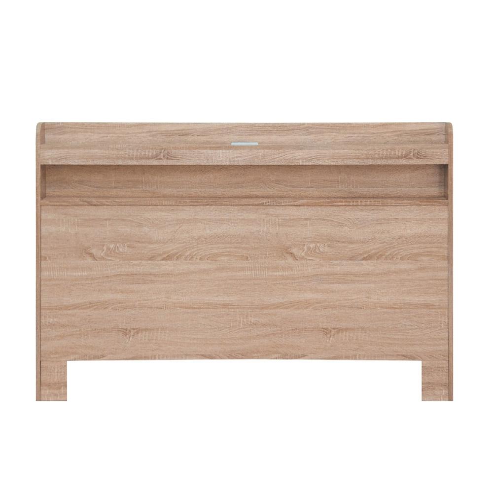 綠活居 孟菲斯現代風5尺雙人床頭片(二色可選)-155x10x105cm免組