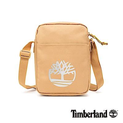 Timberland 中性駝色大樹標誌印花側背包|A1CV7