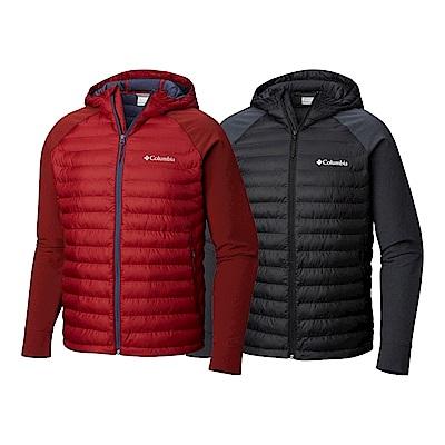 Columbia 哥倫比亞 男款-  保暖防潑連帽外套-2色