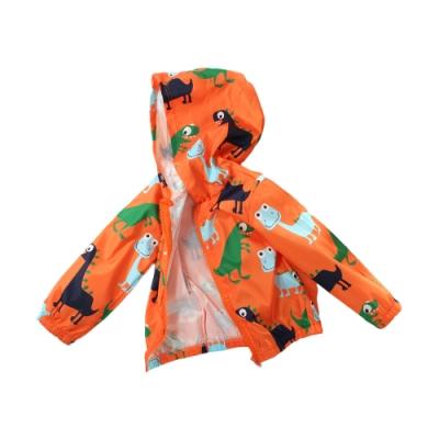 魔法Baby男女童裝 單層連帽防水防風外套 k61189
