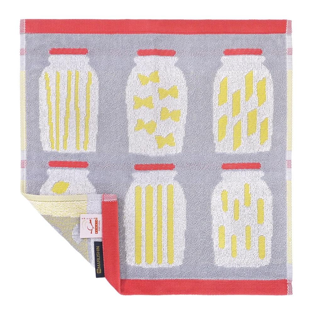 日本丸真 葡萄牙製創意北歐洗臉巾-義大利麵條