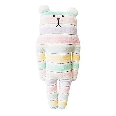 CRAFTHOLIC 宇宙人 花俏緞帶熊中抱枕