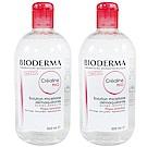 Bioderma貝膚黛瑪 舒敏高效潔膚液 500ml 雙瓶組