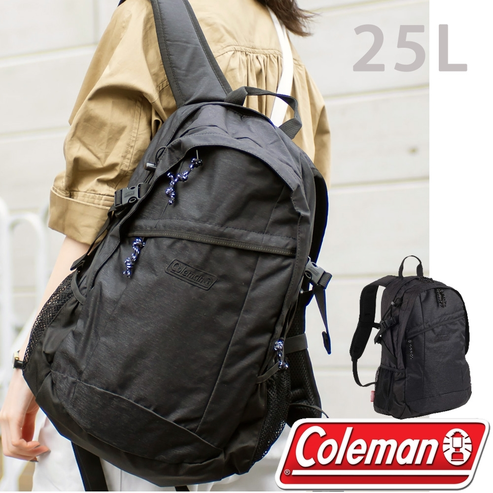 Coleman CM-36193 紳士黑 25L健行者背包/雙肩後背包 登山包健行包/運動旅遊 單車背包/休閒背包