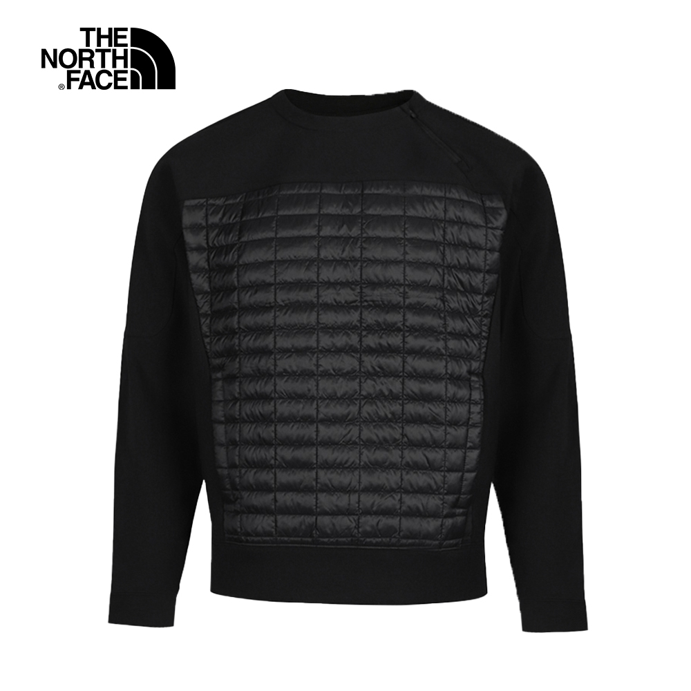 The North Face北面男款黑色戶外衝鋒衣 46GZJK3