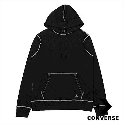 CONVERSE 男VS聯名款帽T 10008010-A01 黑