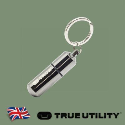 【TRUE UTILITY】英國多功能防水輕巧打火機鑰匙圈FireStash (吊卡版)