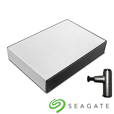 Seagate Backup Plus Portable 5TB 外接硬碟-星鑽銀