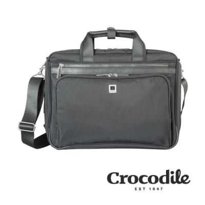 Crocodile B-Light系列 Ripstop防潑水雙層公事包(L) 0104-08903-01