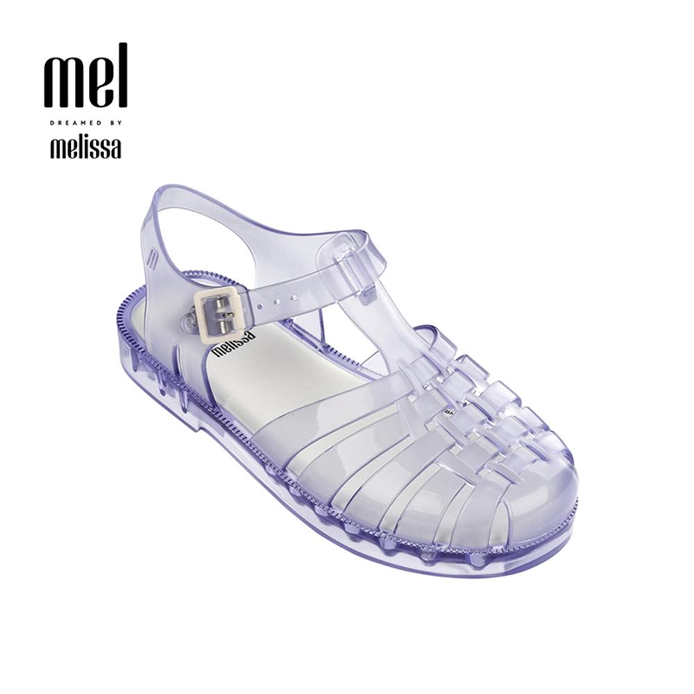 Melissa 經典漁夫鞋兒童款-透明